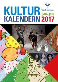 Kulturkalendern Januari-juni 2017 framsida