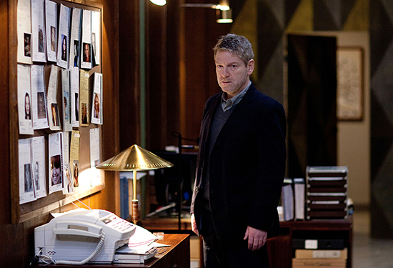 Kenneth Branagh som kommissarie Wallander  Photo: Laurence Cendrowicz